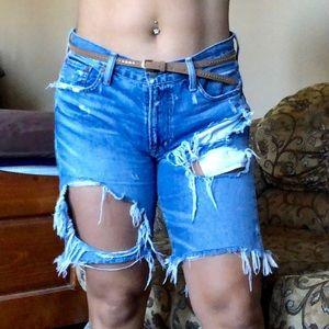 Ralph Lauren Long Jean Shorts